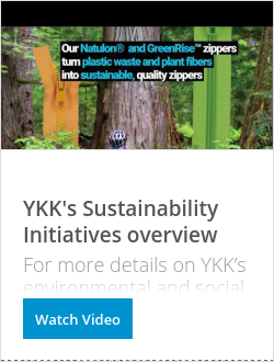 OK彩票YKK's Sustainability Initiatives overview