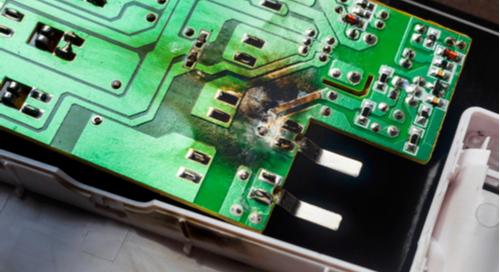 如何从视觉上检测硬盘驱动器PCB中的短路