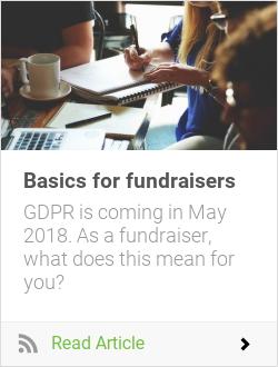 Basics for fundraisers