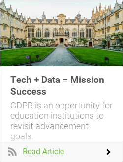 Tech + Data = Mission Success