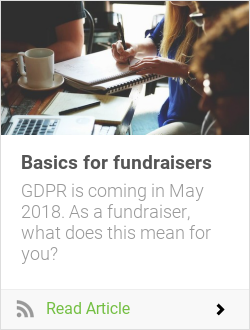 Basics for fundraisers