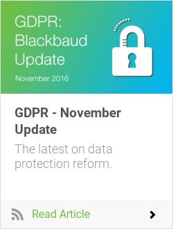 GDPR - November Update