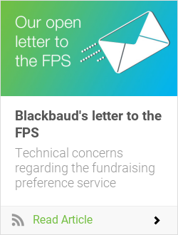 Blackbaud's letter to the FPS