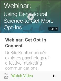 Webinar: Get Opt-in Consent