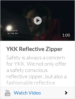 YKK Reflective Zipper