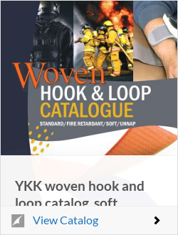 YKK woven hook and loop catalog_soft hook_unnap_fire retardant