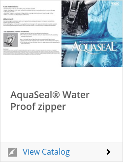 OK彩票AquaSeal® water proof zipper