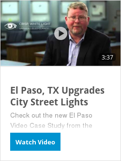 El Paso, TX Upgrades City Street Lights