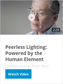 Peerless Lighting: Powered by the Human Element