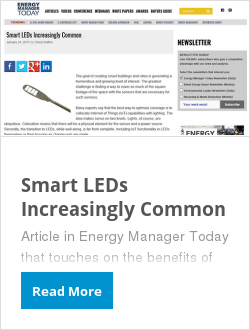 Smart LEDs Increasingly Common