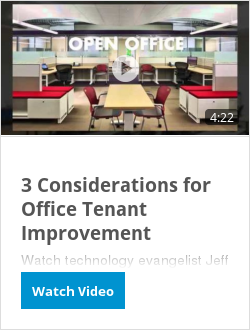 3 Considerations for Office Tenant Improvement