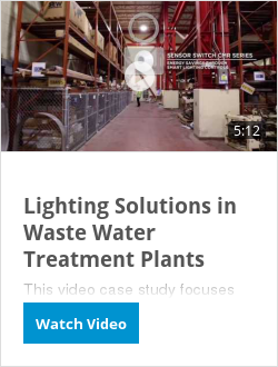 Lighting Solutions in Waste Water Treatment Plants