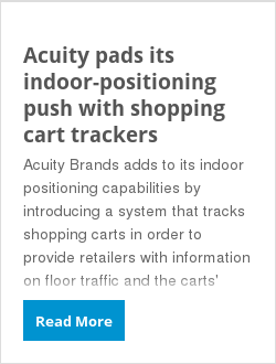 Acuity pads its indoor-positioning push with shopping cart trackers