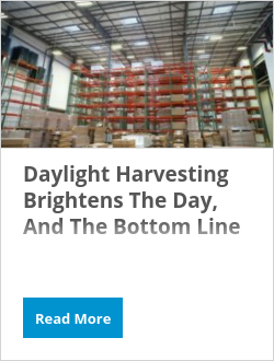 Daylight Harvesting Brightens The Day, And The Bottom Line
