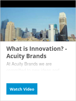 What is Innovation? - Acuity Brands