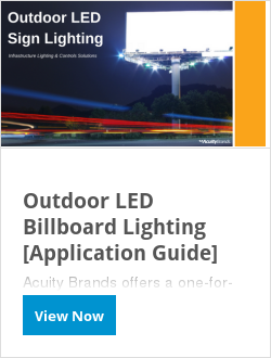 Outdoor LED Billboard Lighting [Application Guide]