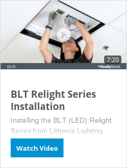 BLT Relight Series Installation