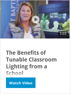 The Benefits of Tunable Classroom Lighting from a School Administrator's Perspective