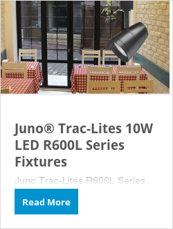Juno® Trac-Lites 10W LED R600L Series Fixtures