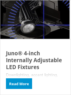 Juno® 4-inch Internally Adjustable LED Fixtures