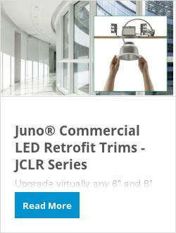Juno® Commercial LED Retrofit Trims - JCLR Series