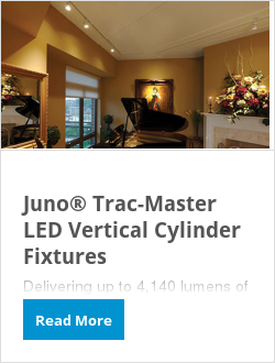 Juno® Trac-Master LED Vertical Cylinder Fixtures