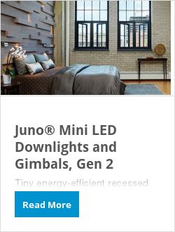 Juno® Mini LED Downlights and Gimbals, Gen 2