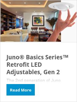 Juno® Basics Series™ Retrofit LED Adjustables, Gen 2
