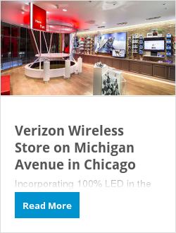 Verizon Wireless Store on Michigan Avenue in Chicago