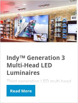 Indy™ Generation 3 Multi-Head LED Luminaires