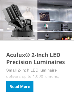 Aculux® 2-Inch LED Precision Luminaires