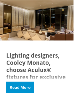 Lighting designers, Cooley Monato, choose Aculux® fixtures for exclusive One Madison building