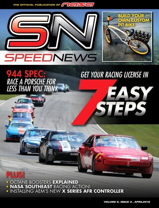 Speed News April 2016