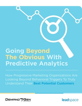 Going Beyond the Obvious with Predictive Analytics