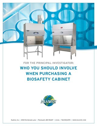 [White Paper] Who to Involve when Purchasing a Biosafety Cabinet