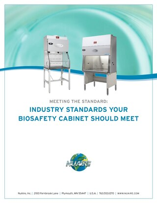 Industry Standards Your Biosafety Cabinet Should Meet