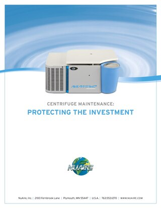 Centrifuge Maintenance: Protecting the Investment