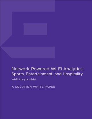 Network Powered Wi-Fi Analytics Sports Entertainment Hospitality