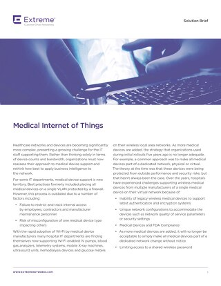 IoT and Medical Device Safety for Healthcare