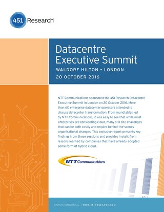 451 Research DC Exec Summit Report
