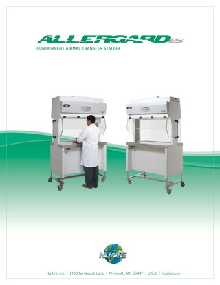 AllerGard NU-620 Product Brochure