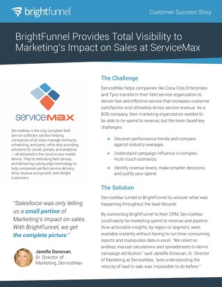 Service Max - Customer Success Story