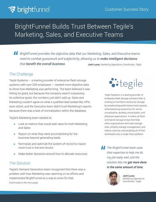 Tegile - Customer Success Story