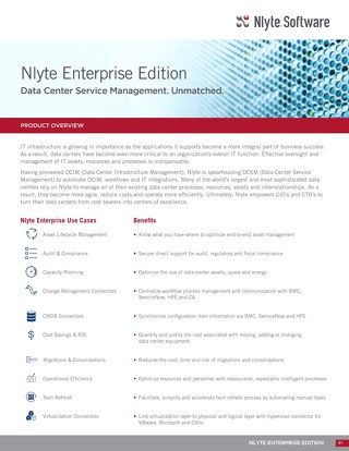 Nlyte Enterprise Edition