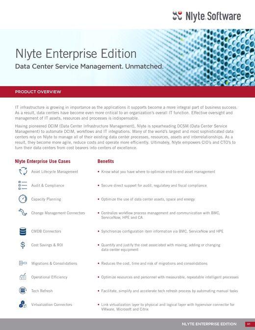 Nlyte Enterprise Edition