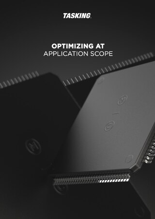 Optimizing at Application Scope