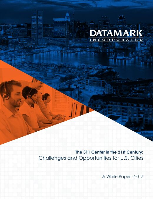 The 311 Center in the 21st Century: Challenges and Opportunities for U.S. Cities
