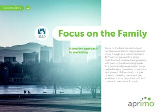 Focus on the Family Success Story