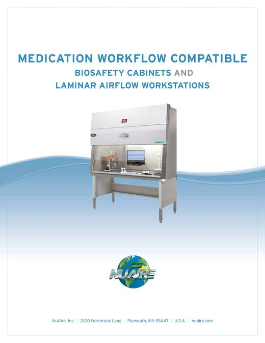 [Brochure] IV Workflow Compatible Primary Engineering Controls