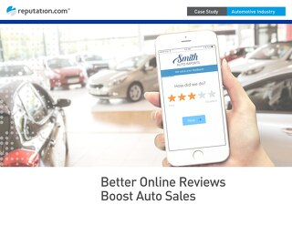 Big Three Automotive Case Study: Better Online Reviews Boost Sales